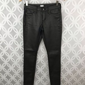 Cache Faux Leather Pants NWT